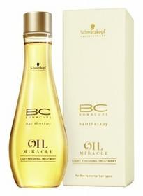 Schwarzkopf BC Bonacure Oil Miracle Light Finishing Treatment olejek i serum do włosów 100 ml Uszkodzone pudełko dla kobiet