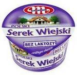 Mlekovita Serek twarogowy ziarnisty ze śmietanką bez laktozy