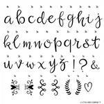 A Little Lovely Company A Little Lovely Company - A Little Lovely Company  -  Litery do Lightboxa Zestaw Script