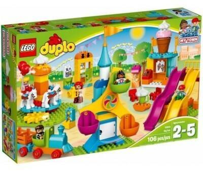 LEGO Duplo Duże wesołe miasteczko 10840