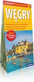 ExpressMap praca zbiorowa comfort! map&guide XL Węgry. Laminowany map&guide XL