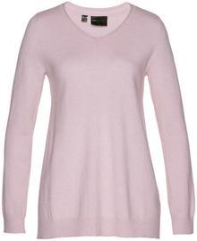 Bonprix Sweter Premium matowy jasnoróżowy