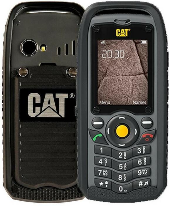 Cat B25 Dual Sim Czarny
