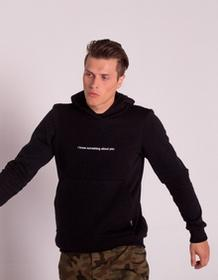 MAJORS Bluza I know hoodie black