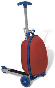 vidaXL Hulajnoga dla dzieci z kuferkiem