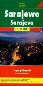 Sarajewo mapa 1:17 500 Freytag & Berndt - Freytag & Berndt