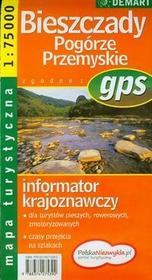 Demart  Bieszczady Pogórze Przemyskie mapa turystyczna 1: 75 000