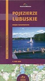 Cartomedia  Pojezierze Lubuskie Mapa turystyczna 1:100 000