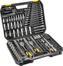 Topex Zestaw kluczy nasadowych 38D852 1/2, 3/8, 1/4 cala (219 elementów)