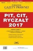 Podatki cz.2 PIT CIT RYCZAŁT 2017 PRACA ZBIOROWA