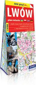 ExpressMap praca zbiorowa see you! in Lwów. Papierowy plan miasta 1:10 000