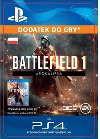Battlefield 1 Apokalipsa DLC PS4 wersja cyfrowa