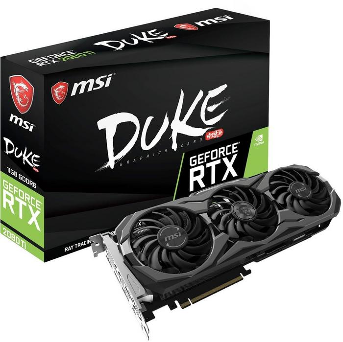 MSI GeForce RTX 2080 Ti DUKE 11GB GDDR6