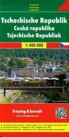Freytag&berndt Czechy mapa 1:400 000 Freytag & Berndt - Freytag & Berndt
