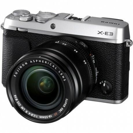 Fuji X-E3 + XF 18-55 R LM OIS srebrny