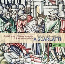Scarlatti Sedecia re di Gerusalemme CD) Gerard Lesne Philippe Jaroussky Il Seminario Musicale