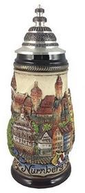 ISDD Cuckoo Clocks Kufel do piwa kufel do Panorama Nürnberg 0,5litra kufel do piwa zo 1781/906 ZO 1781/906
