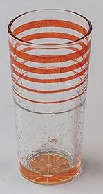 Domestic Szklanka do long drinków zestaw 36-częściowy CL Ice Orange 250087