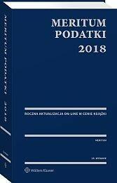 Kaźmierski Aleksander MERITUM Podatki 2018 - dostępny od ręki, natychmiastowa wysyłka