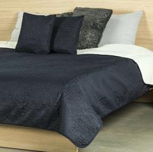 4Home Narzuta na łóżko Doubleface niebieski/kremowy, 220 x 240 cm, 2 szt. 40 x 40 cm