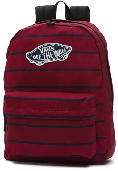 b70b75e2e5dbd Vans plecak Realm Backpack Tibetan Red Stripe O3X) rozmiar OS – ceny ...