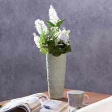 Dekoria Wazon Flowers pistacja wys 22,5cm 22,5cm 000-146