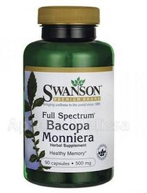SWANSON Health Products Bacopa Monniera Extract 250 mg 90 kaps
