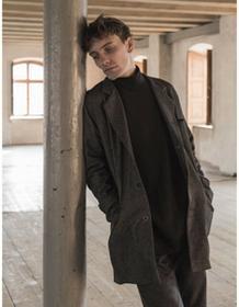 The Hive Płaszcz Wool Jacket in Grey