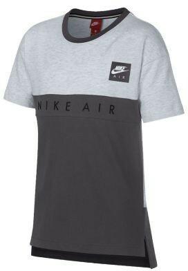 ad8534b04 Nike T-shirt dla dużych dzieci (chłopców) Nike Air - Szary 892463 ...