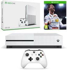 Microsoft Xbox One S 500GB Biały + FIFA 18