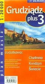 Demart Grudziądz - plan miasta (skala 1:20 000) - Demart