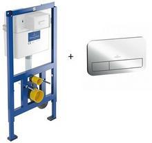 Villeroy & Boch Stelaż podtynkowy do WC ViConnect + przycisk chrom 92246100+92249061 VIL-VC-013