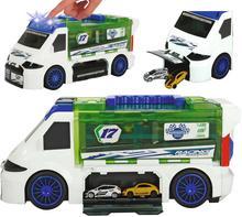 Majorette Auto Van walizka na resoraki i auto wyścigowe 2058188