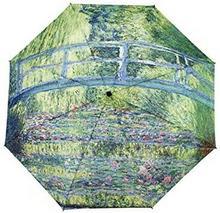 Galleria Parasol składany automatyczny Japoński Mostek - Monet - 30215