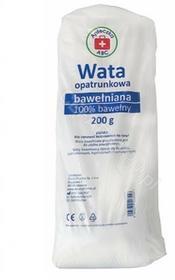 WATA SILESIAN PHARMA SP ZOO opatrunkowa bawełniana 100% 200 g Apteczka ABC