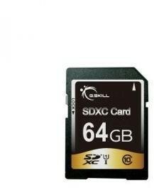 G.Skill SDXC 64GB