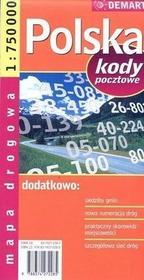 Polska - mapa drogowo-administracyjna (skala 1:750 000) - Praca zbiorowa