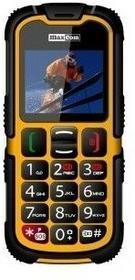 Maxcom MM910 Strongphone żółty