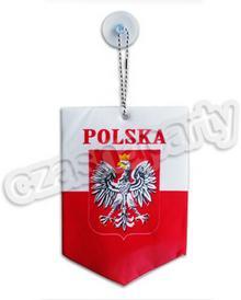 Zawieszka samochodowa POLSKA proporczyk 1 szt.
