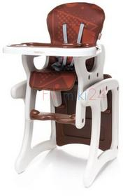4Baby Krzesełko do karmienia FASHION brązowe 761207