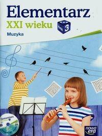 Nowa Era Elementarz XXI wieku 3 Muzyka Podręcznik z płytą CD - Monika Gromek, Grażyna Kilbach