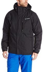 Columbia Alpine Action męska kurtka przeciwdeszczowa, czarny, l Alpine Action Jacket