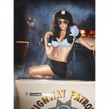 Baci Lingerie Przebranie policjantki - Baci Highway Patrol Set One Size BC013A