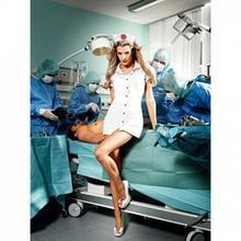 Baci Lingerie Przebranie pielęgniarki - Baci O.R. Nurse Set One Size BC006A