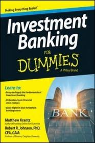 Wiley Investment Banking for Dummies
