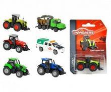 Majorette Pojazdy wiejskie, 6 rodzajów