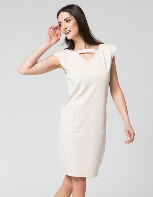 MOSALI Sukienka z ozdobnym paskiem