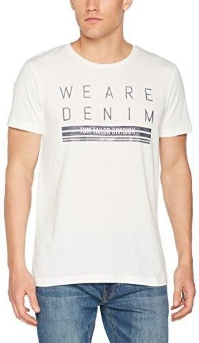Tom Tailor Denim męski T-shirt Crew with Print - xxl 10551300012-2132 484012702b