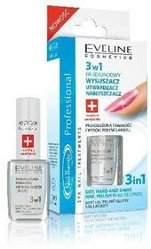 Eveline Nail Therapy, lakier-odżywka wysuszacz 3w1, 12 ml