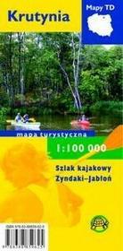 TD Mapy Krutynia Mapa turystyczna 1:100 000 - Praca zbiorowa